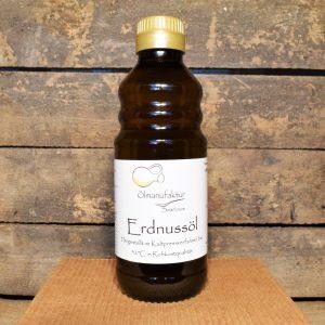 Bio-Erdnussöl, Rohkostqualität, kaltgepresst bei 33°C