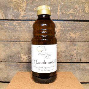 Bio-Haselnussöl, Rohkostqualität, kaltgepresst bei 35°C