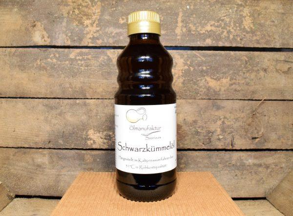 Bio-Schwarzkümmelöl, Rohkostqualität, kaltgepresst bei 32°C (Abonnement)