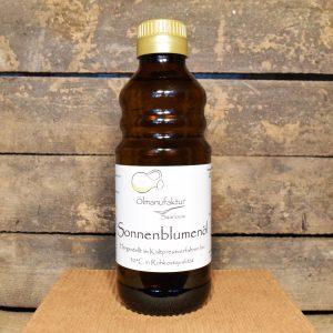 Bio-Sonnenblumenöl, Rohkostqualität, kaltgepresst bei 30°C