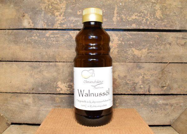 Walnussöl, Rohkostqualität, kaltgepresst bei 35°C
