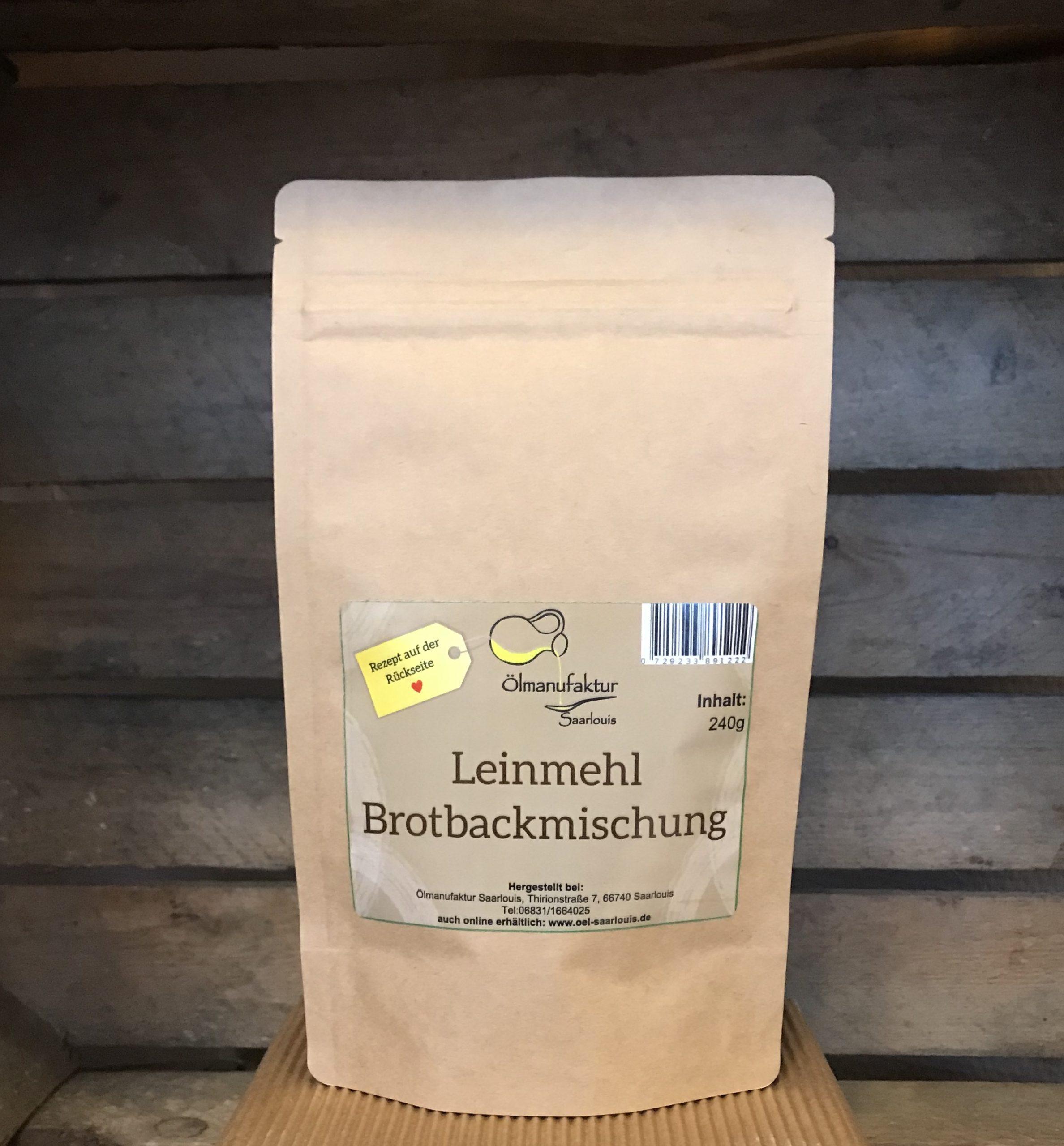 5x Leinmehl Brotbackmischung